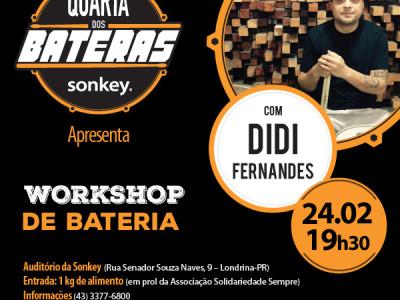 Quarta dos Bateras Com Didi Fernandez!!