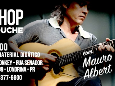Workshop com Mauro Albert!!!