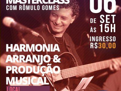 Masterclass com Rômulo Gomes