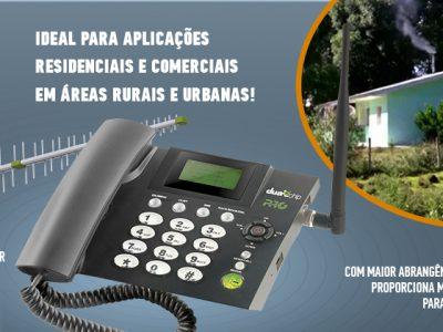 Kit Telefone Celular Fixo PROKD-6000  PROELETRONIC