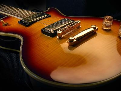 O muda de uma guitarra para outra?