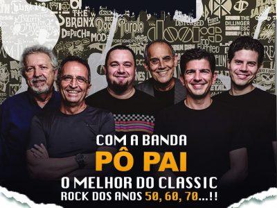 Noite do Rock Solidário com a Banda Pô Pai!
