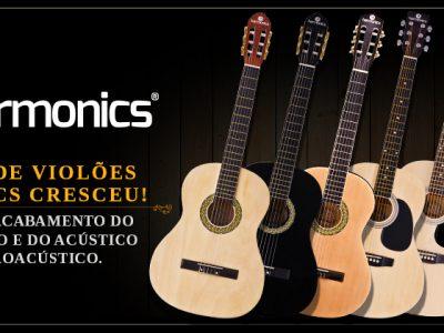 Linha de Violões Harmonics