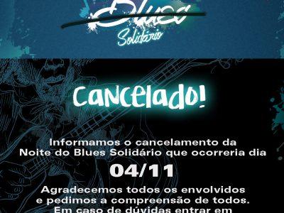 Noite do Blues Solidário –> CANCELADO