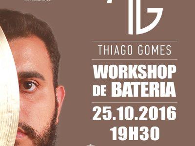 Workshop de Bateria com Thiago Gomes