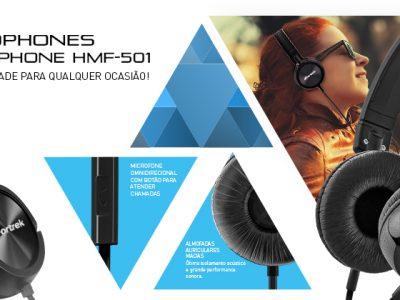 NOVIDADE!!! → Headphone HMF-501 da FORTREK