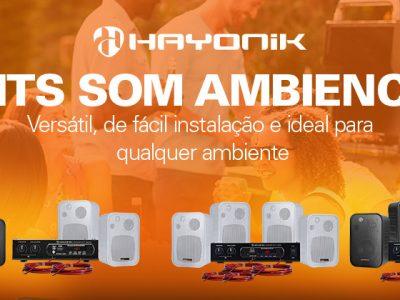 Kit Som Ambiente AMBIENCE HAYONIK