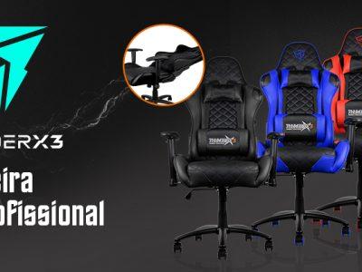 Cadeira Gamer Profissional THUNDERX3