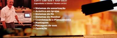 Workshop Sonorização em Igrejas com Carlos Pedruzzi na Sonkey